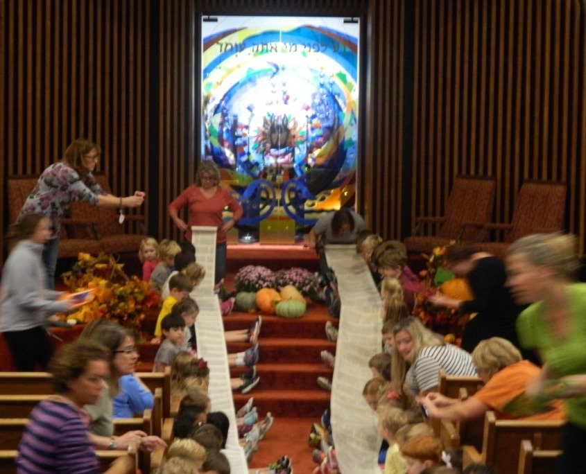 Simchat Torah at ECEC