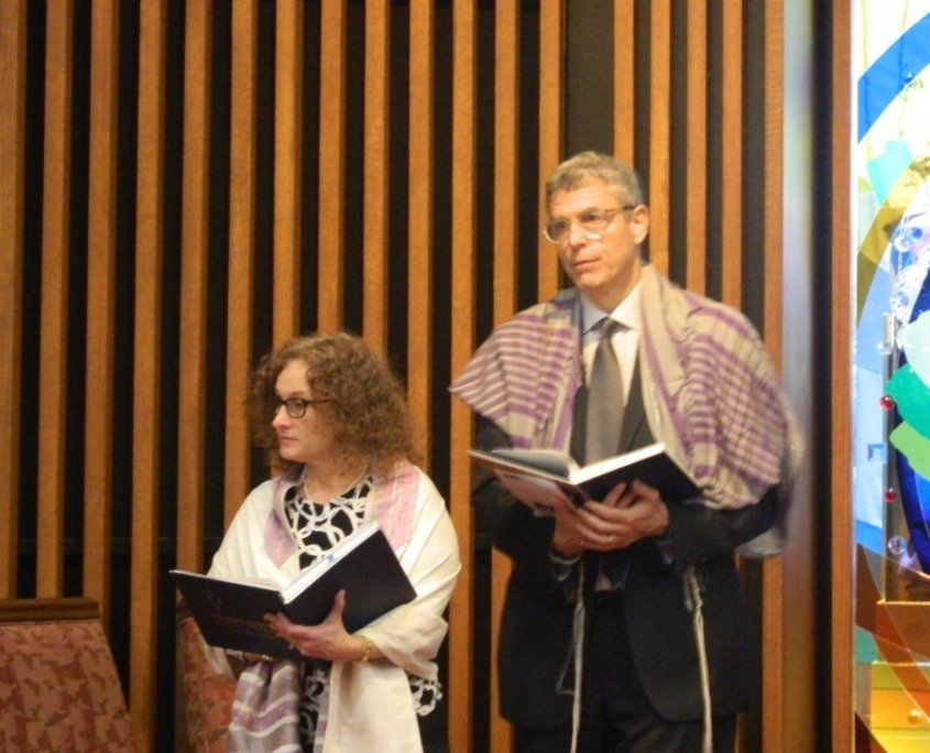 Rabbi Rick Jacobs at The Temple