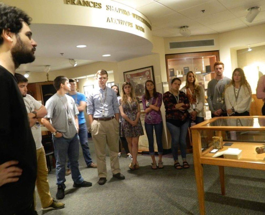 Governor's Scholars Tour Temple